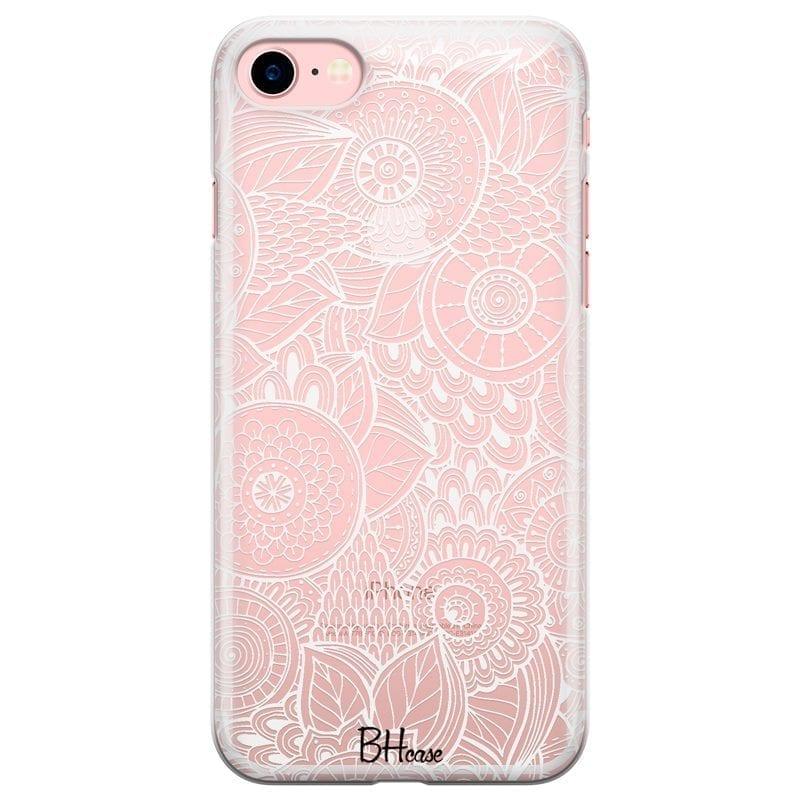 Flower Pattern Kryt iPhone 7/8