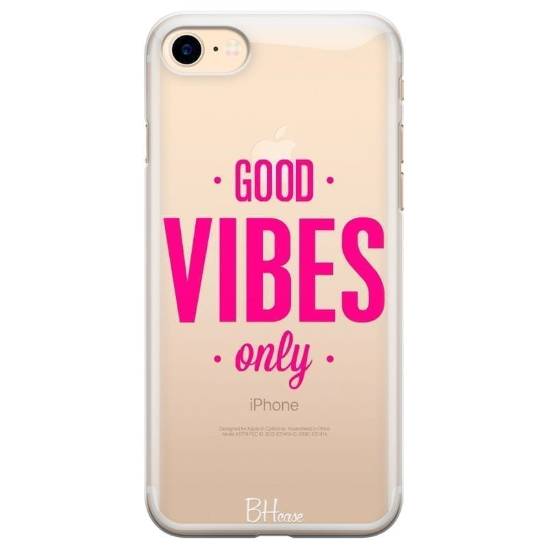 Good Vibes Only Kryt iPhone 7/8