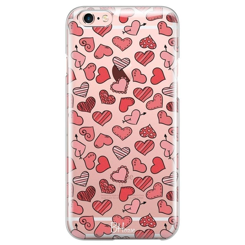 Hearts Red Kryt iPhone 6/6S