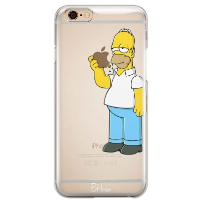 Homer Simpson Kryt iPhone 6 Plus/6S Plus