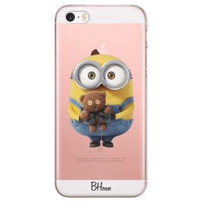 Minion With Teddy Bear Kryt iPhone SE/5S