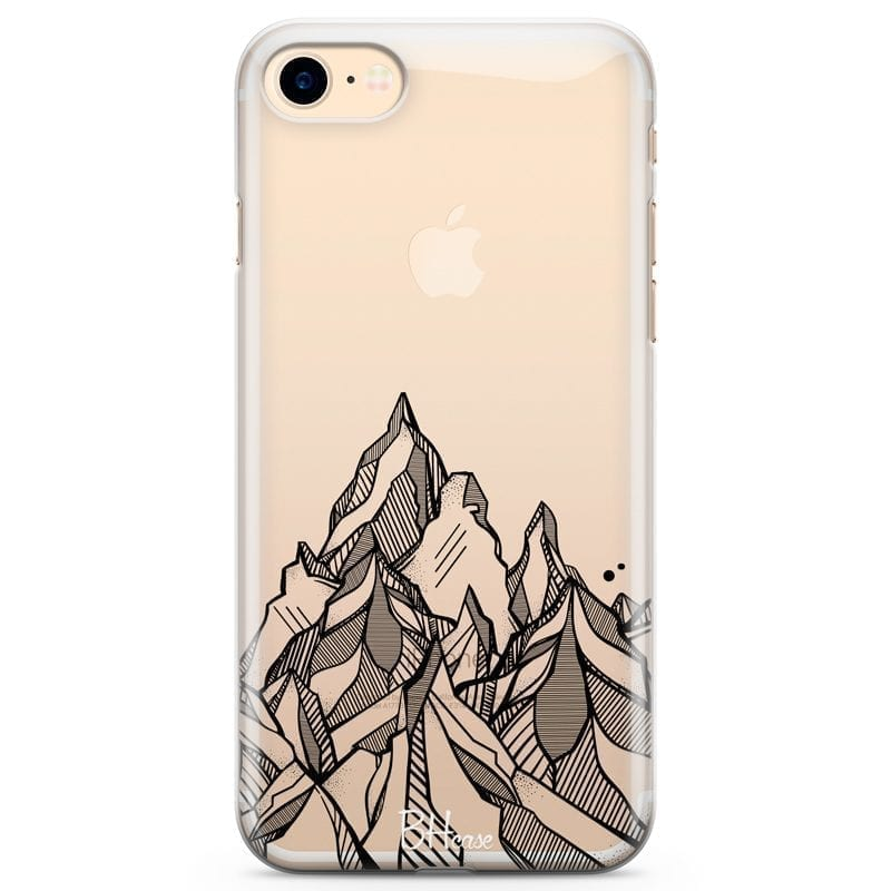 Mountains Geometric Kryt iPhone 7/8
