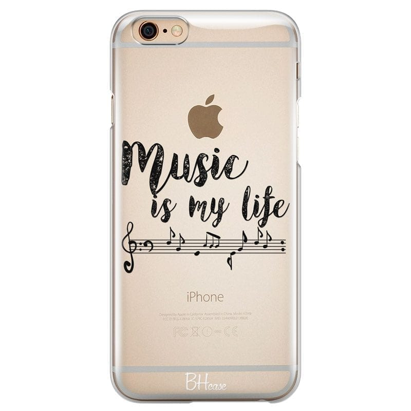 Music Is My Life Kryt iPhone 6 Plus/6S Plus