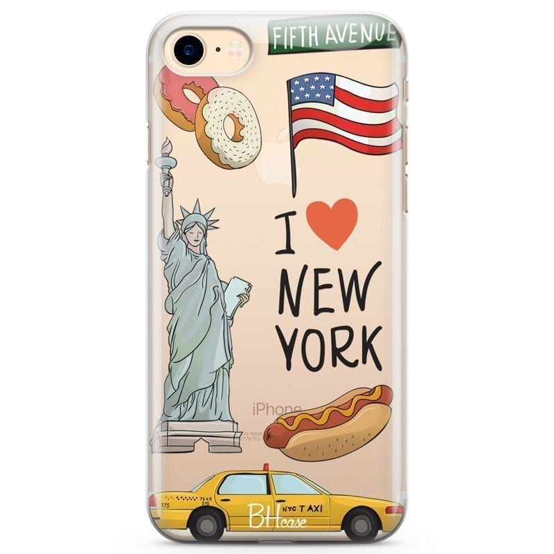 New York Kryt iPhone 7/8