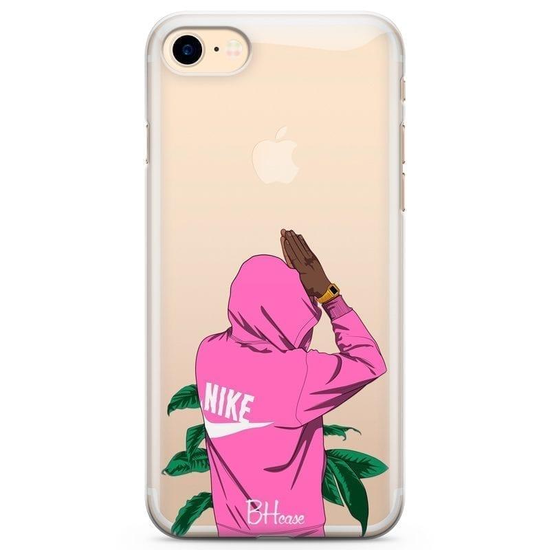 Nike Pink Boy Kryt iPhone 7/8