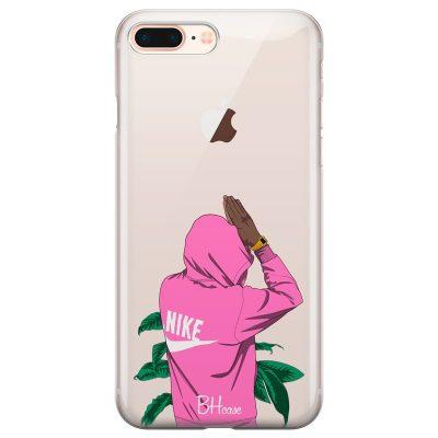 Nike Pink Boy Kryt iPhone 7 Plus/8 Plus
