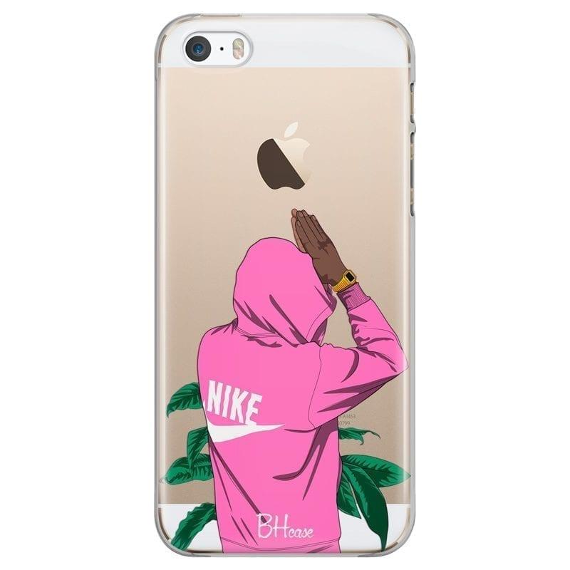 Nike Pink Boy Kryt iPhone SE/5S