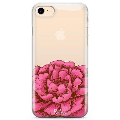 Peony Pink Kryt iPhone 8/7/SE 2 2020