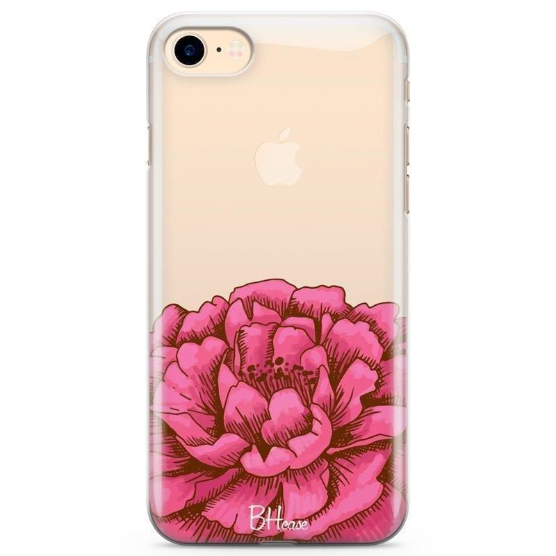 Peony Pink Kryt iPhone 7/8