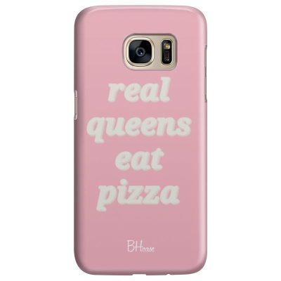 Real Queens Eat Pizza Kryt Samsung S7