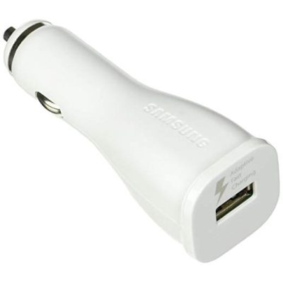 Samsung Car Adapter White