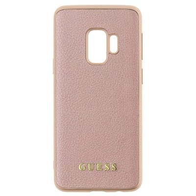 Guess Iridescent Rose Gold Kryt Samsung S9