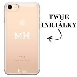 Kryt s iniciálkami pre iPhone 7/8