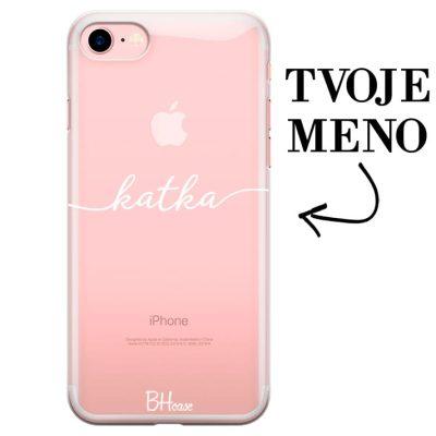 Kryt s menom pre iPhone 7/8
