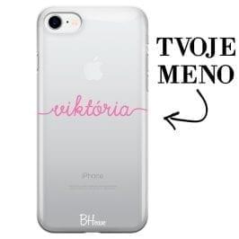 Kryt s menom pre iPhone 8/7/SE 2 2020