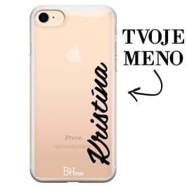 Kryt s vertikálnym menom pre iPhone 7/8