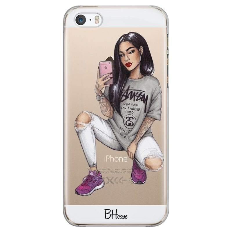 Stussy Girl Kryt iPhone SE/5S