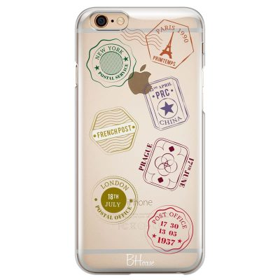 Travel Stamps Kryt iPhone 6/6S