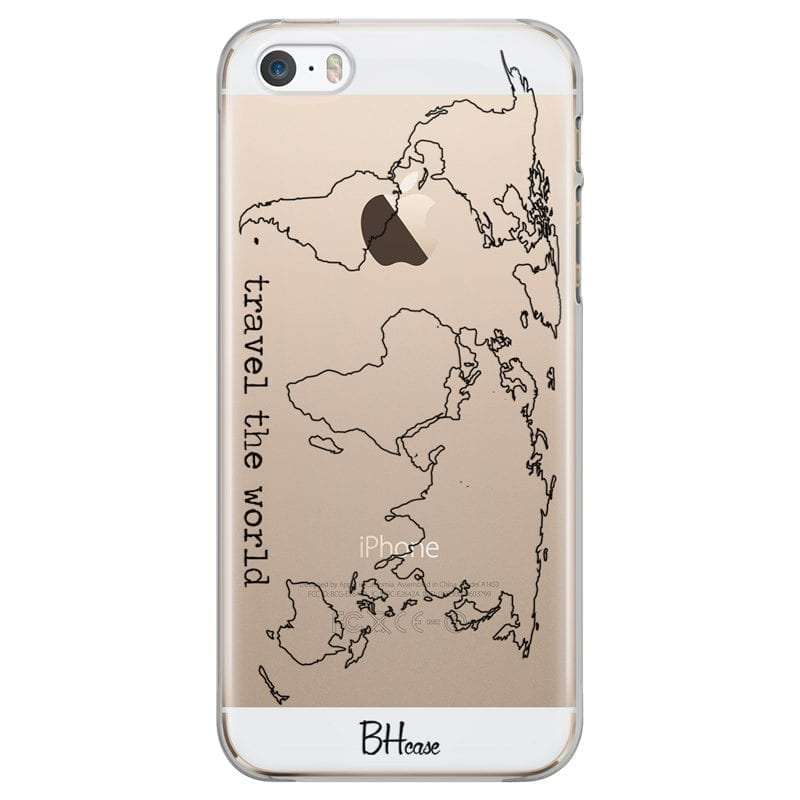 Travel The World Kryt iPhone SE/5S