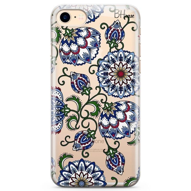 Vintage Floral Kryt iPhone 7/8