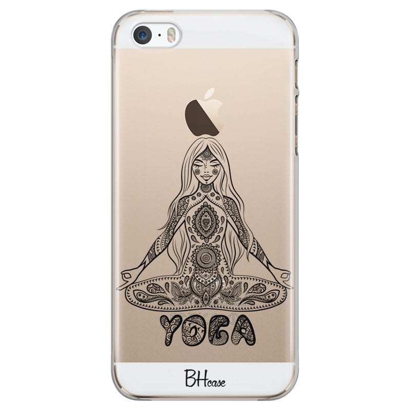 Yoga Meditation Kryt iPhone SE/5S