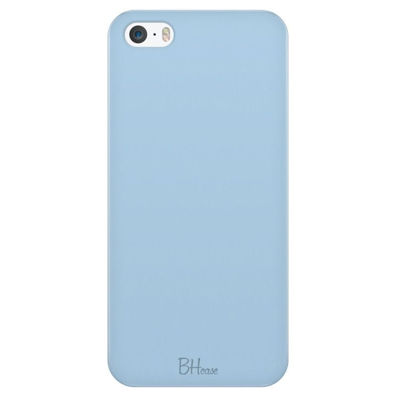 Baby Blue Color Kryt iPhone SE/5S