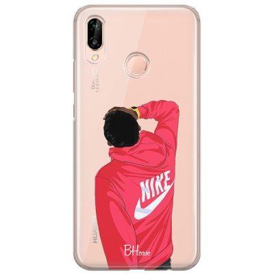 Back Boy Nike Kryt Huawei P20 Lite