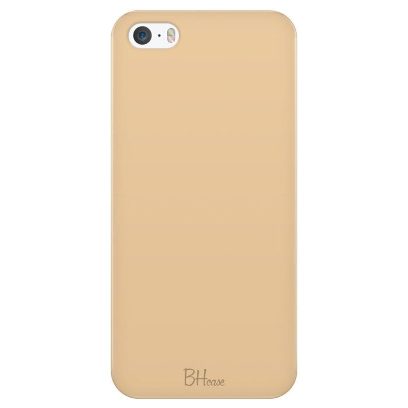 Champagne Color Kryt iPhone SE/5S