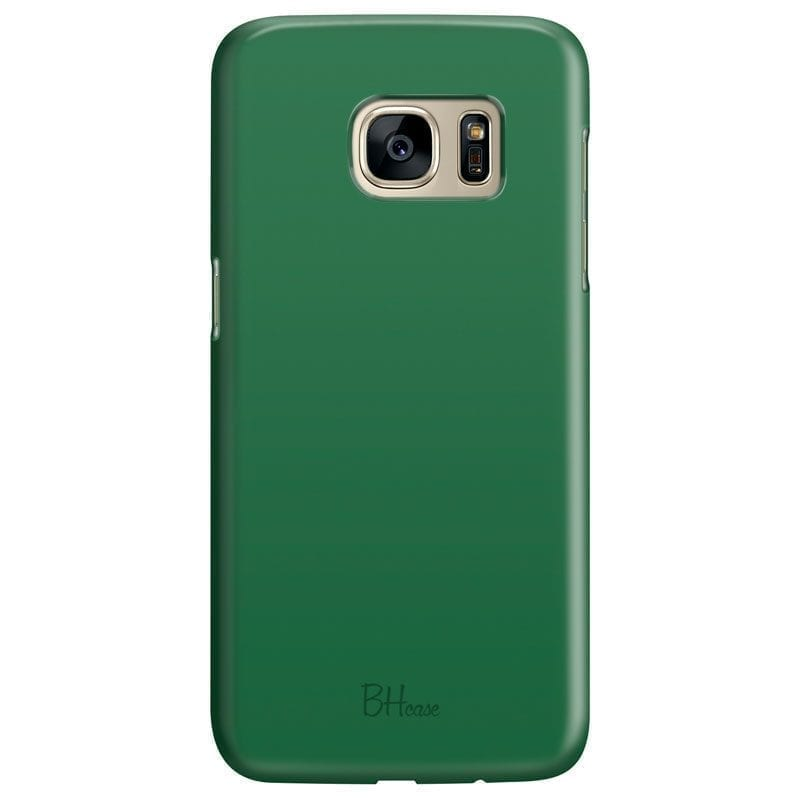 Dark Spring Green Color Kryt Samsung S7