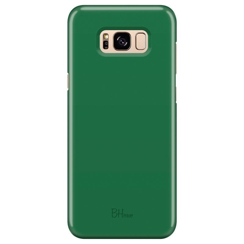 Dark Spring Green Color Kryt Samsung S8 Plus