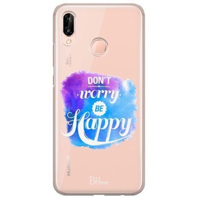 Don't Worry Be Happy Kryt Huawei P20 Lite
