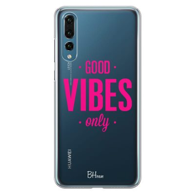 Good Vibes Only Kryt Huawei P20 Pro