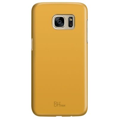 Honey Yellow Color Kryt Samsung S7