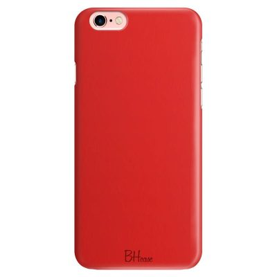 Red Apple Color Kryt iPhone 6/6S