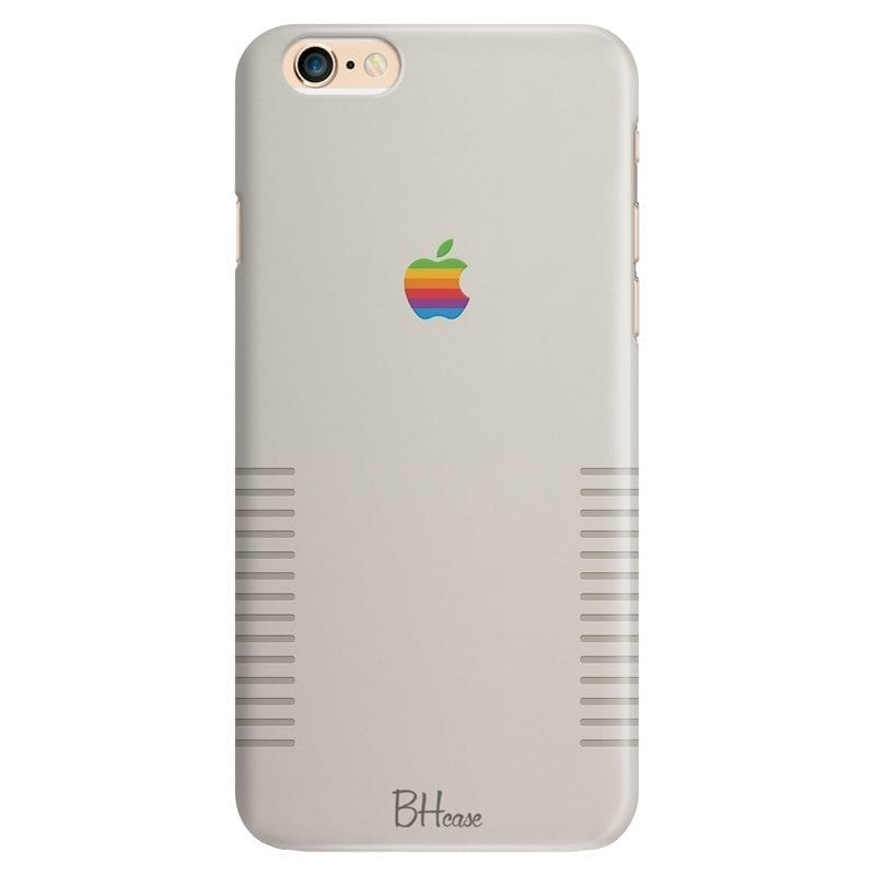 Retro Apple Design Kryt iPhone 6 Plus/6S Plus