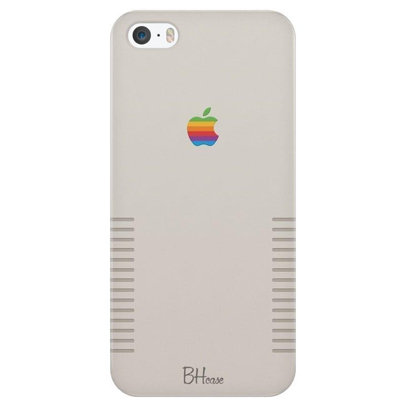 Retro Apple Design Kryt iPhone SE/5S