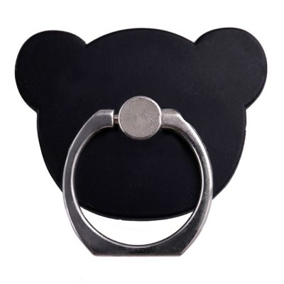 Stent Ring Kickstand Black Bear
