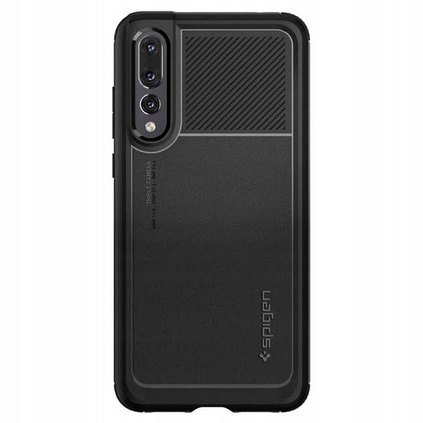 Spigen Marked Armor Black Kryt Huawei P20 Pro