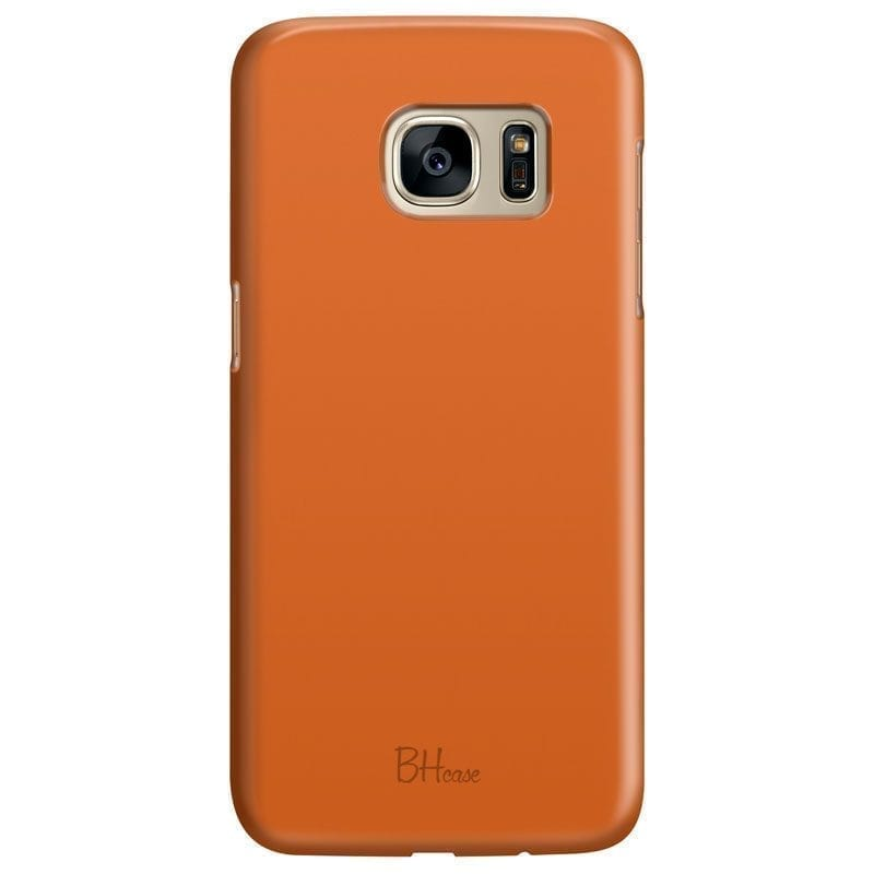 Tiger Orange Color Kryt Samsung S7