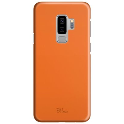 Tiger Orange Color Kryt Samsung S9 Plus