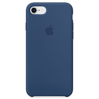 Apple Blue Cobalt Silicone Kryt iPhone 8/7