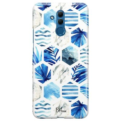 Blue Design Kryt Huawei Mate 20 Lite