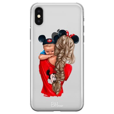 Baby Mouse Kryt iPhone X/XS