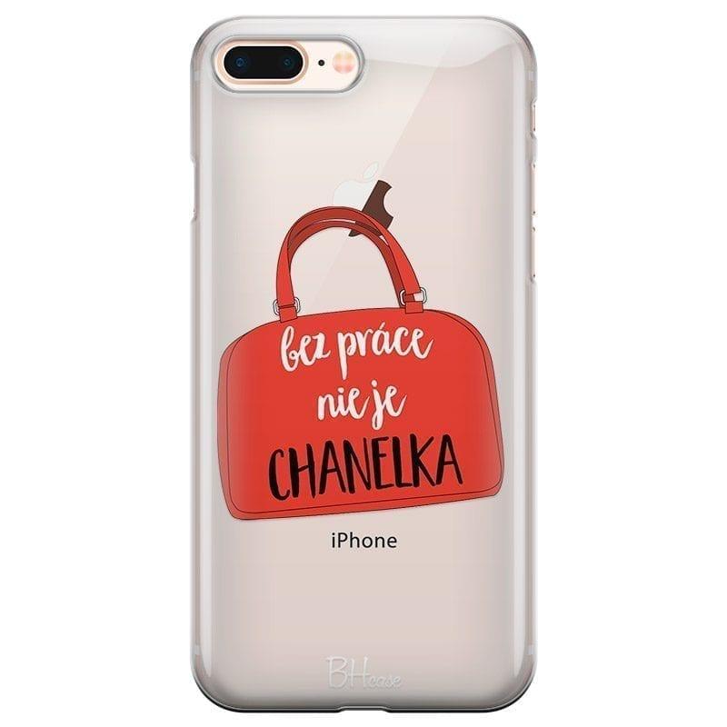 Bez Práce Nie Je Chanelka Kryt iPhone 7 Plus/8 Plus