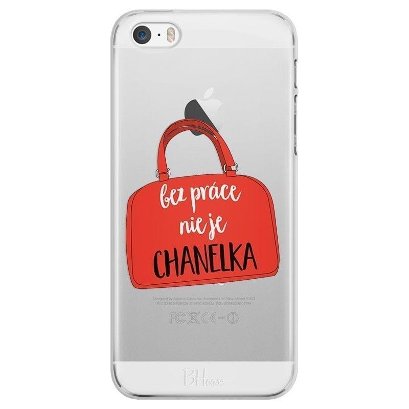 Bez Práce Nie Je Chanelka Kryt iPhone SE/5S