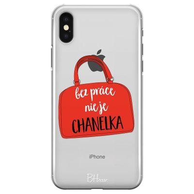 Bez Práce Nie Je Chanelka Kryt iPhone XS Max