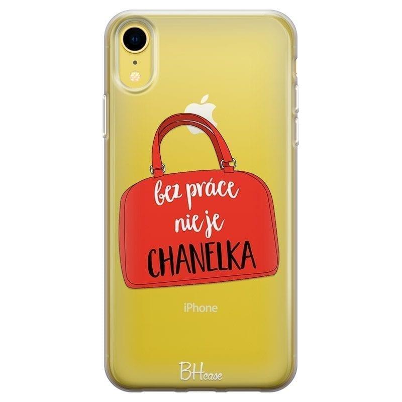 Bez Práce Nie Je Chanelka Kryt iPhone XR