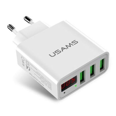 Usams Travel Charger White