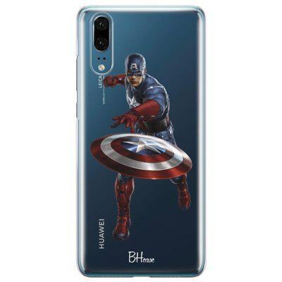 Captain America Kryt Huawei P20