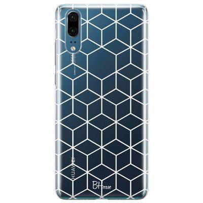 Cubic Grid Kryt Huawei P20